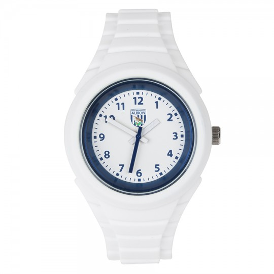 LADIES RUBBER STRAP WATCH