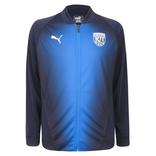 18/19 PUMA STADIUM JACKET NAVY