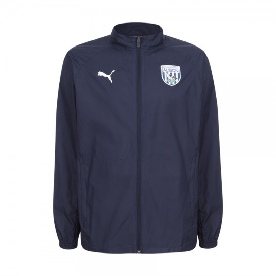 19/20 PUMA CHILDS RAIN JACKET NAVY