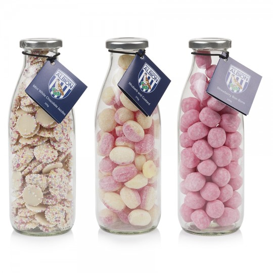 MILK BOTTLES SWEETS GIFT SET
