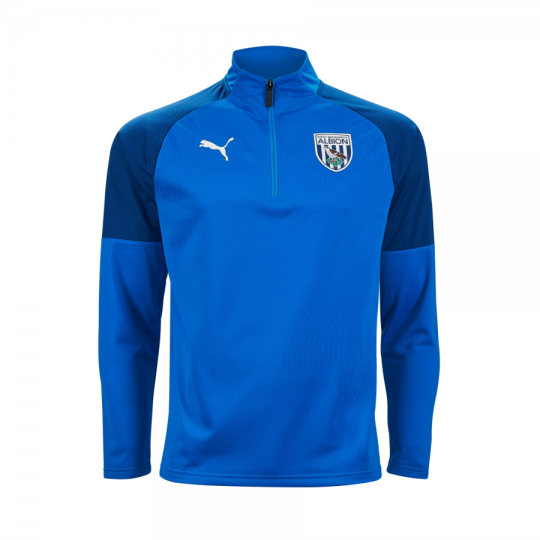 19/20 PUMA CHILD TRAINING TOP BLUE
