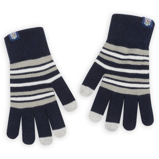 TOUCH SCREEN GLOVES STRIPE