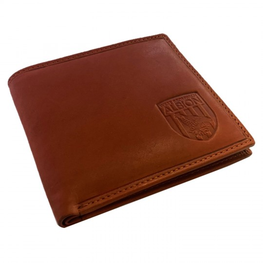 LEATHER CREST WALLET