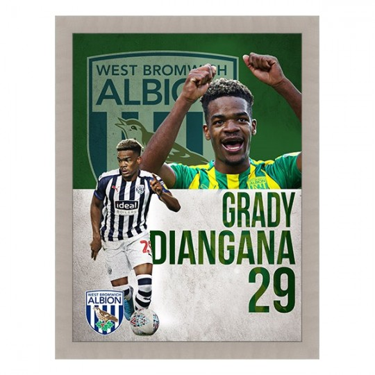 PLAYER FRAMED PRINTS DIANGANA