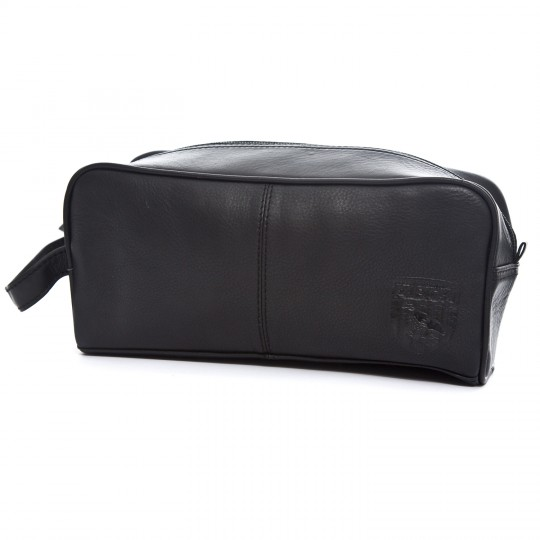 HUNTER LEATHER WASHBAG