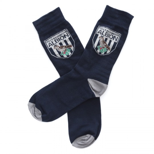 Classic Crest Dress Socks