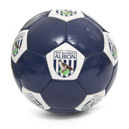 High Gloss Navy Crest Football Size 5