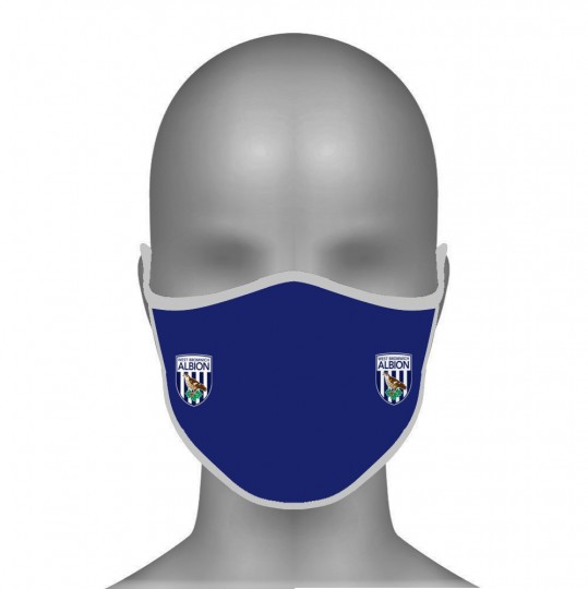 Navy Crest Face Protector
