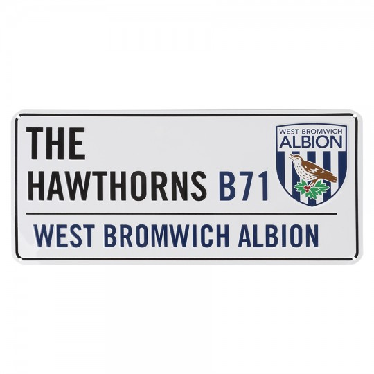 THE HAWTHORNS STREET SIGN