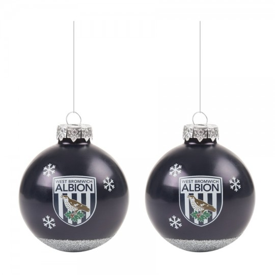 PEARLISED BAUBLES 2 PACK