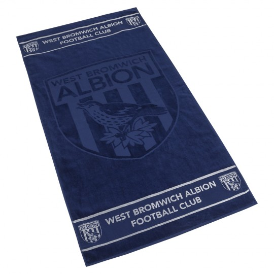 BEACH TOWEL NAVY/WHITE