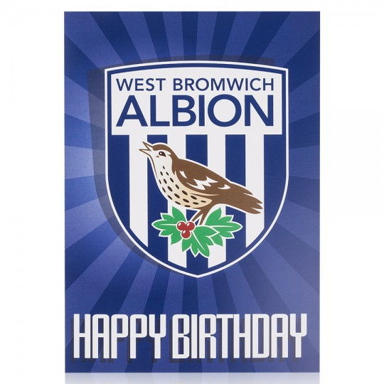 BIRTHDAY CREST CARD