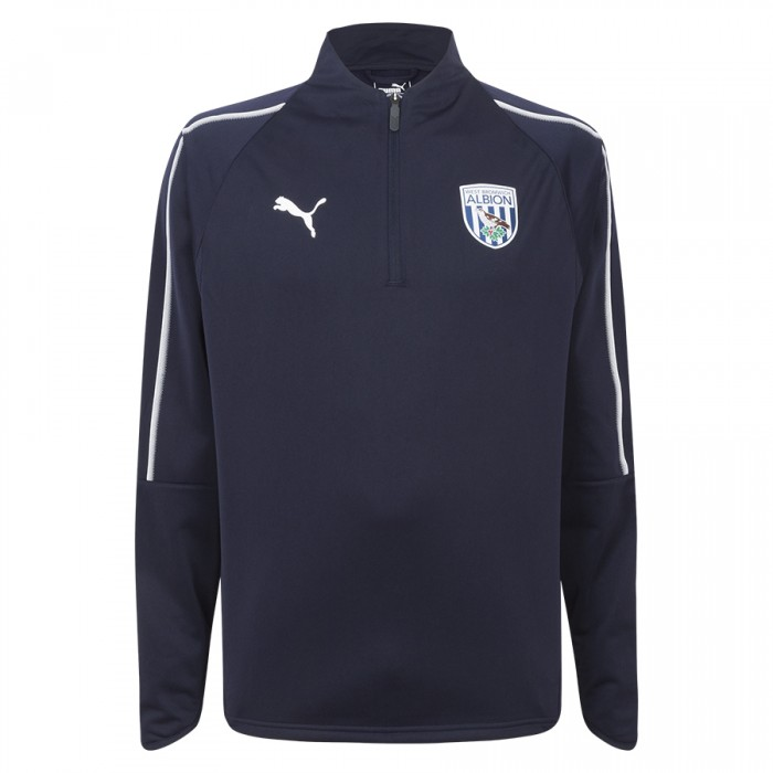 18/19 PUMA ADULT TRAINING TOP NAVY