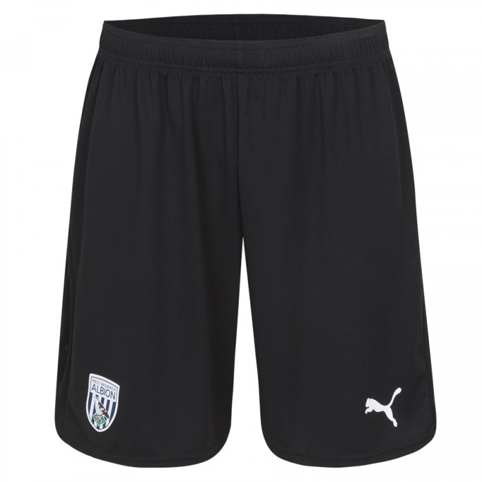 18/19 PUMA HOME BLACK GOALKEEPERS SHORTS CHILD