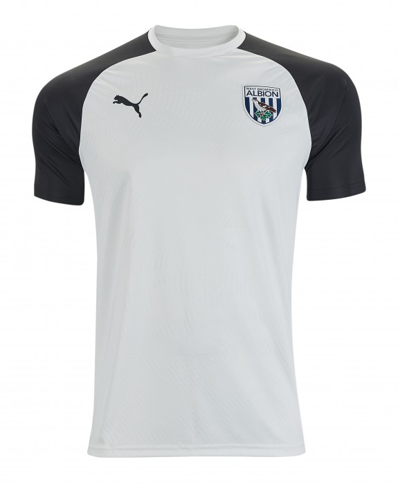 19/20 PUMA TRAINING T-SHIRT WHITE