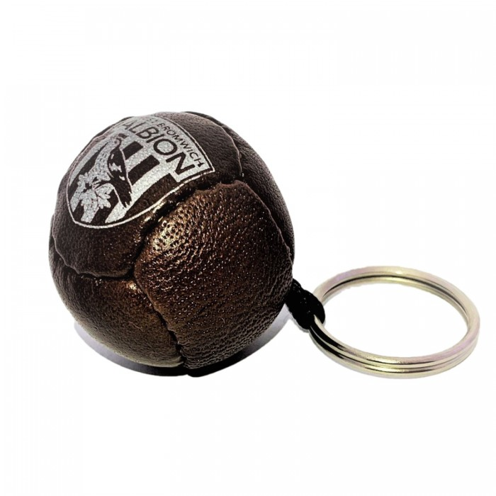 VINTAGE FOOTBALL LEATHER KEYRING