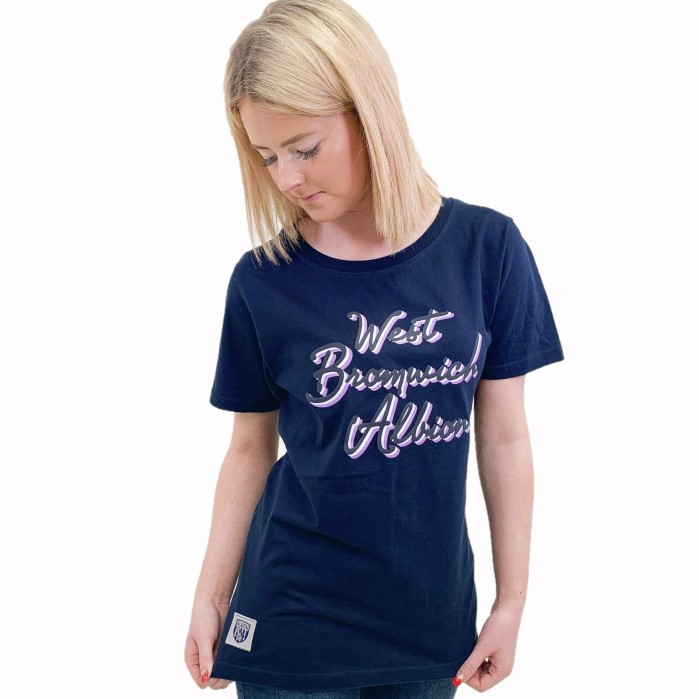 WEST BROM SCRIPT T SHIRT