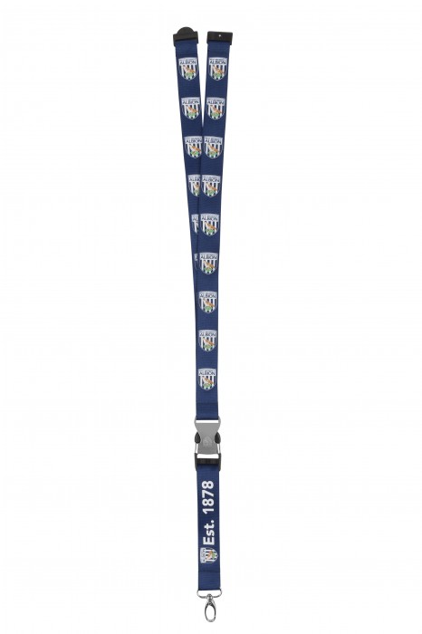 CREST LANYARD WITH METAL BUCKLE