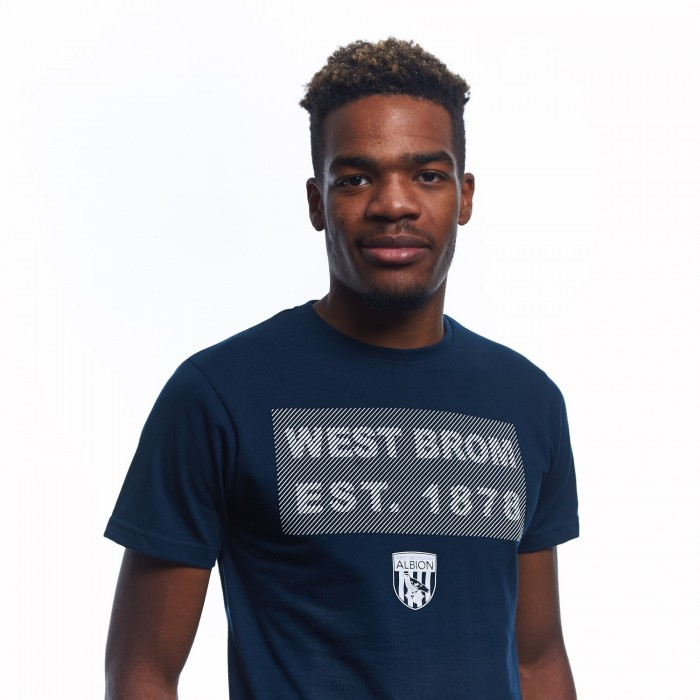 JERSEY T SHIRT WITH WEST BROM RUBBER PRINT