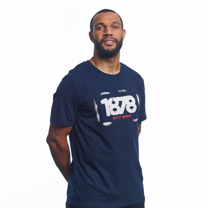 WEST BROM 1878 T SHIRT
