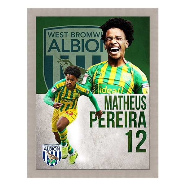 PLAYER FRAMED PRINTS PEREIRA