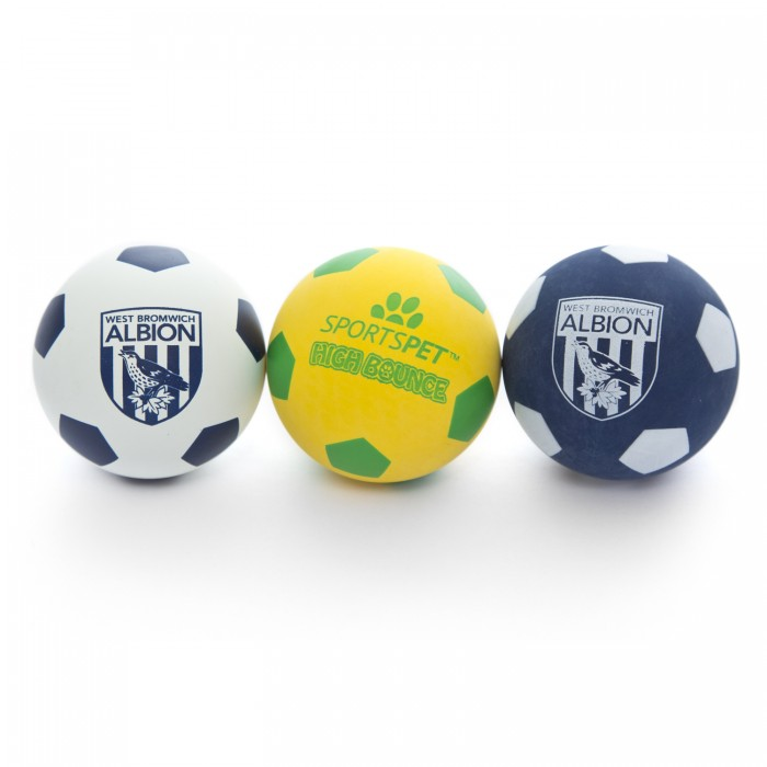 WBA 3 Pack Pet Bounce Balls