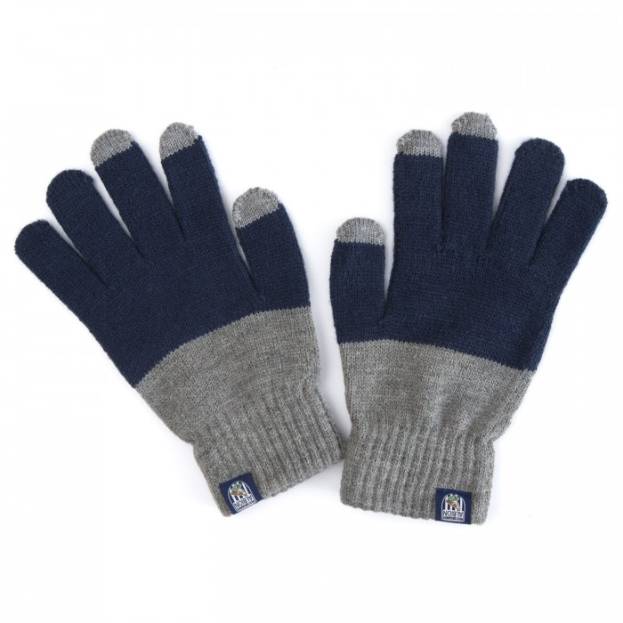 TWO TONE TOUCH SCREEN GLOVES