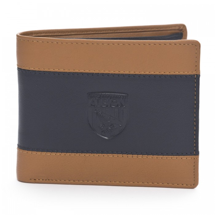 TWO TONE EMBOSSED WALLET