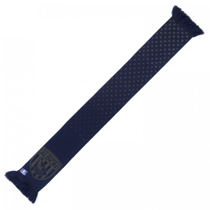 Navy Monotone Fashion Scarf