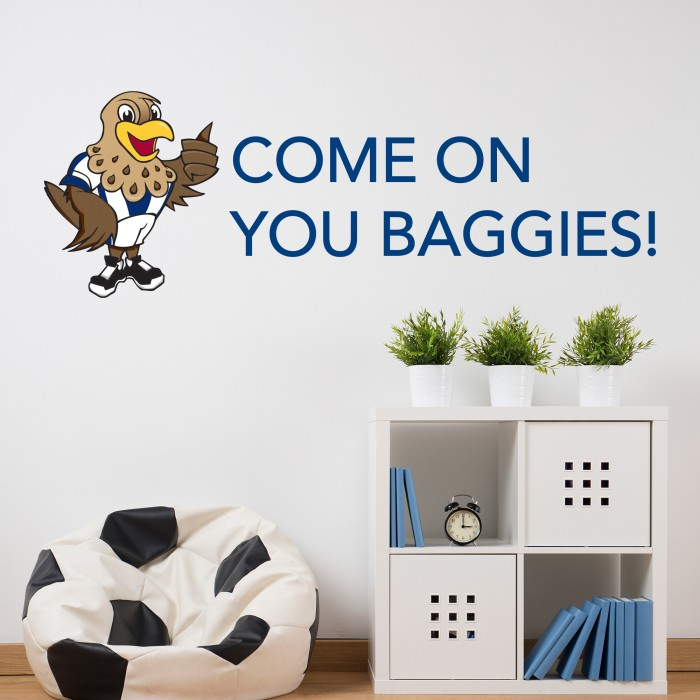 Baggie Bird Chant Vinyl Wall Sticker
