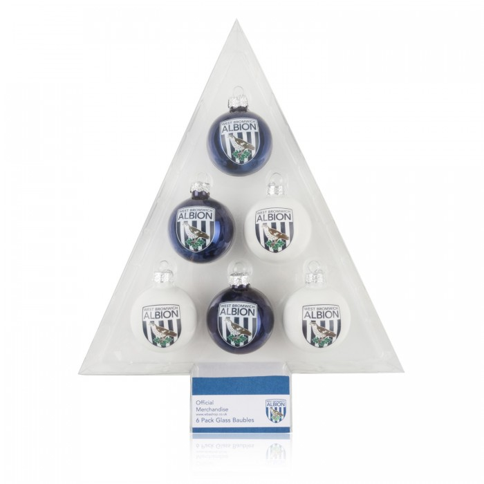 6 PACK OF BAUBLES