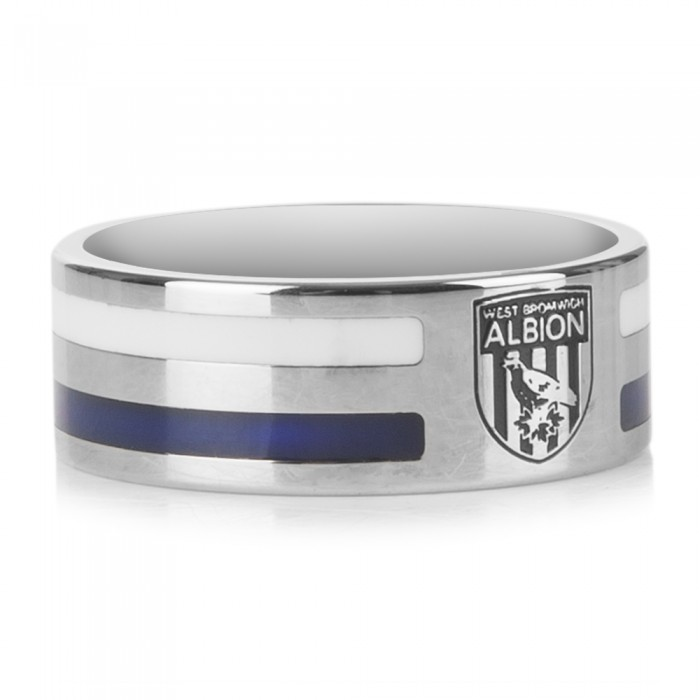 STRIPED CREST RING