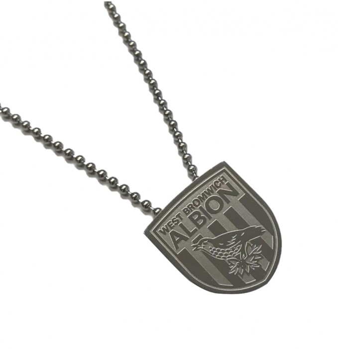 CREST PENDANT AND CHAIN