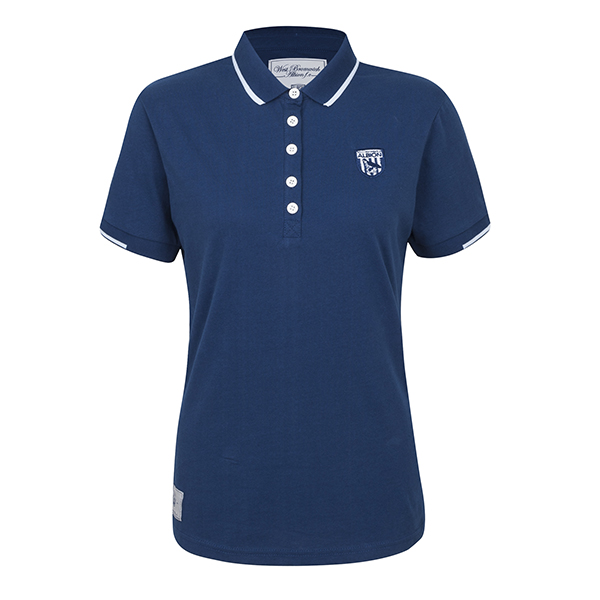 LADIES POLO SHIRT NAVY