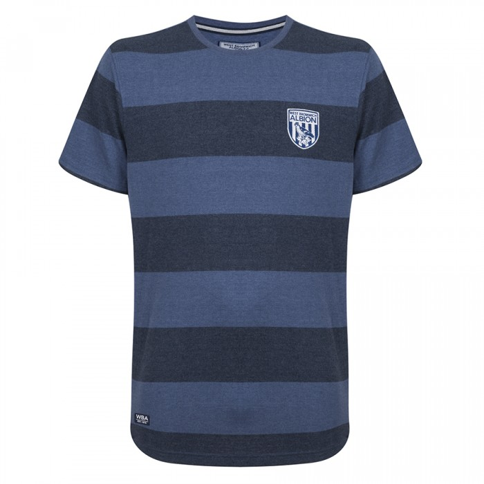 CHILDS DENIM STRIPE T-SHIRT