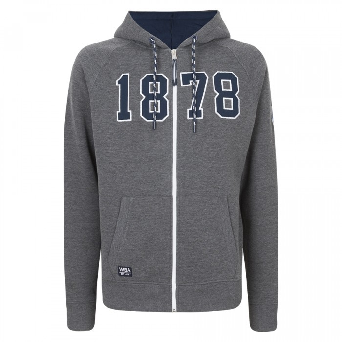 1878 ZIP THROUGH HOODIE