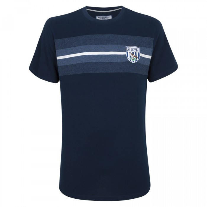 PIQUE CHEST STRIPE T SHIRT CHILDS