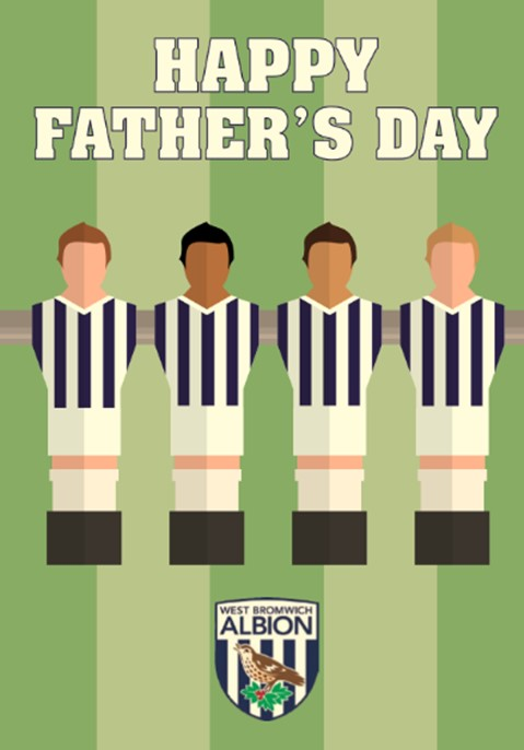 PLAYER FATHERS DAY CARD