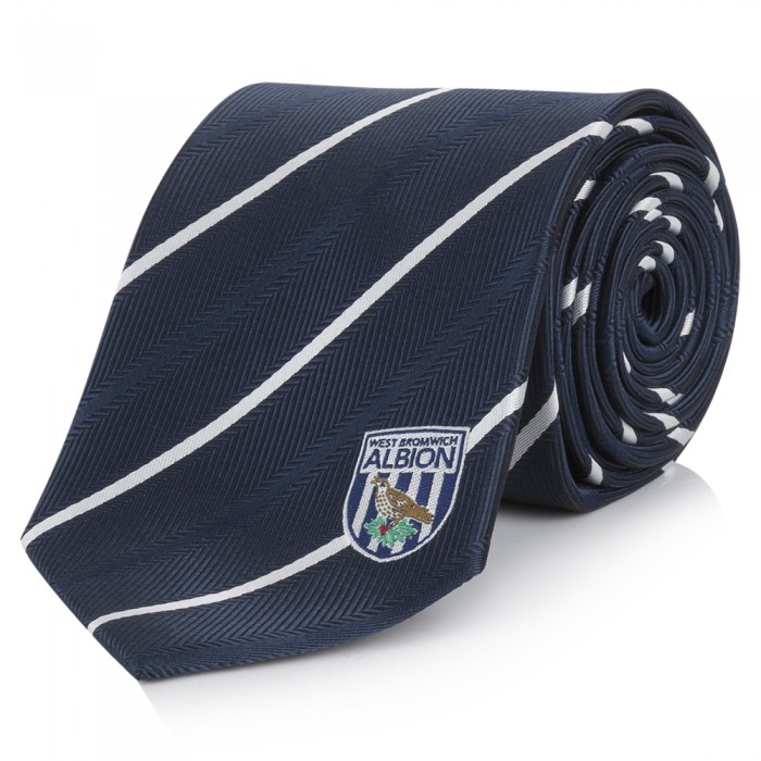 TIE BROAD NAVY BAND